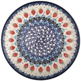 Bunzlau Plate 20 cm Strawberry -Limited Edition-