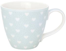GreenGate Mug Penny pale blue -stoneware-