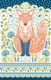 Ulster Weavers Tea Towel Woodland Fox