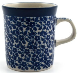 Bunzlau Straight Mug Small 150 ml Indigo