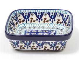 Bunzlau Square Bowl Medium 10x10 cm Marrakesh