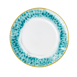 Rice Porcelain Lunch - Glaze Print - Jade