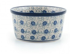 Bunzlau Ramekin Bowl 9 cm Flower Fountain