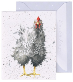 Wrendale Designs 'Curious Hen' miniature Card