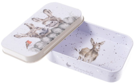 Wrendale Designs 'Hee Haw' mini gift tin