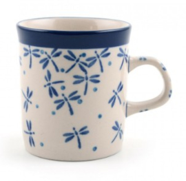 Bunzlau Straight Mug Small 150 ml Damselfly