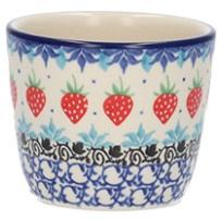 Bunzlau Mug Tumbler 190 ml Strawberry -Limited Edition-