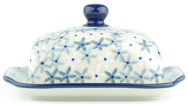 Bunzlau Butter Dish with Plate Sea Star