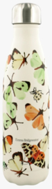 Chilly's Drink Bottle 500 ml Emma Bridgewater Butterflies & Bugs -mat met reliëf-