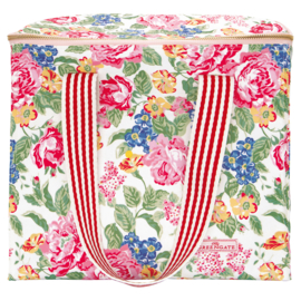 GreenGate Cooler bag two handles Emmaline white