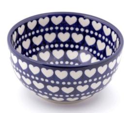 Bunzlau Rice Bowl 14 cm Blue Valentine