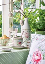 GreenGate Teabag holder Lily petit white