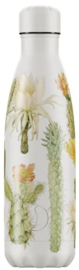 Chilly's Drink Bottle 500 ml Botanical Cacti -mat met reliëf-
