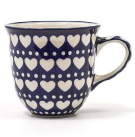 Bunzlau Tulip Mug Senseo 200 ml Blue Valentine