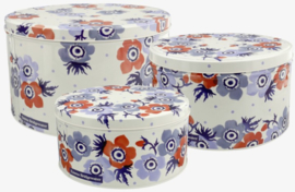 Emma Bridgewater Anemone Set of 3 Round Cake Tins