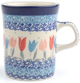 Bunzlau Straight Mug 250 ml Tulip Lovely Pink -Limited Edition-
