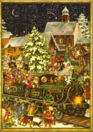 Meander Advent kalender Kersttrein