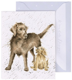 Wrendale Designs 'Puppy Love' miniature card