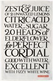 Emma Bridgewater Black Toast Perfect Cordial Tea Towel