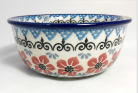 Bunzlau Salad Bowl 370 ml Red Violets