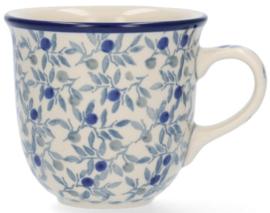 Bunzlau Tulip Mug 200 ml Blue Olive