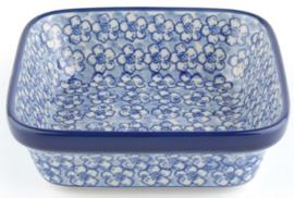 Bunzlau Square Bowl 350 ml 13x13 cm Buttercup