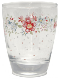GreenGate Water Glass Clementine white