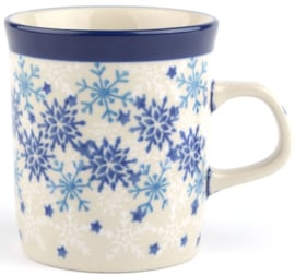 Bunzlau Straight Mug Small 150 ml Christmas Stars