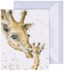 Wrendale Designs 'First Kiss' miniature Card