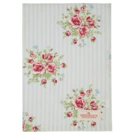 GreenGate Tea Towel Nellie pale blue *limited edition*