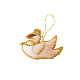 Rice Swan Ornament