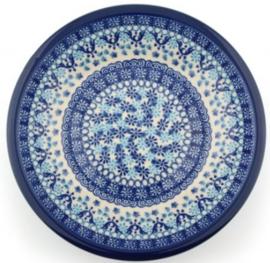 Bunzlau Plate Deep 21 cm Nautique