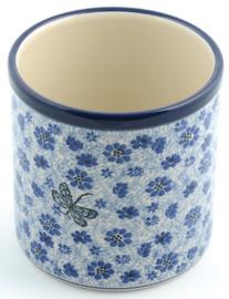 Bunzlau Flowerpot - Kitchen Utensil Pot Dragonfly