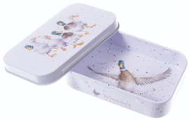 Wrendale Designs 'Quackers' mini gift tin
