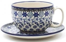 Bunzlau Cup & Saucer 350 ml Belle Fleur