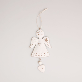 Sass & Belle Christmas Decoration Heart Angel