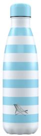 Chilly's Drink Bottle 500 ml Dock & Bay Tulum Blue -mat-