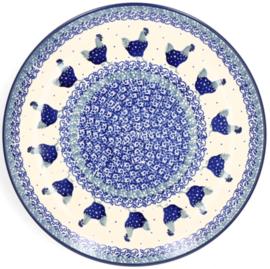 Bunzlau Plate 25,5 cm Chicken -Limited Edition-