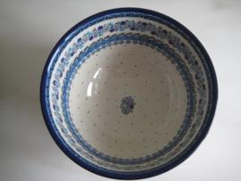 Bunzlau Bowl on Foot 22,5 cm Springtime