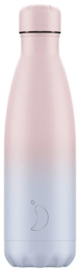 Chilly's Drink Bottle 500 ml Gradient Blush -mat-