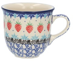 Bunzlau Tulip Mug 340 ml Strawberry -Limited Edition-