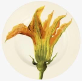 Emma Bridgewater Vegetable Garden Courgette Flower 6 1/2 Inch Plate