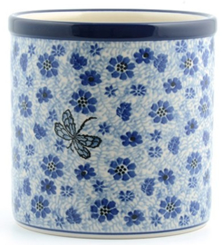 Bunzlau Flowerpot - Kitchen Utensil Pot Dragonfly