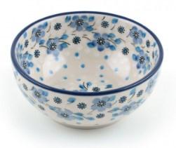 Bunzlau Rice Bowl 300 ml Blue White Love