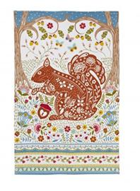 Ulster Weavers Tea Towel Woodland Squirrel