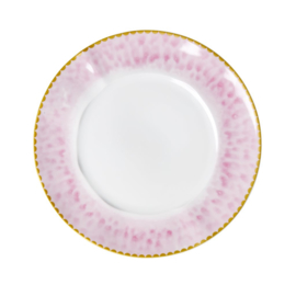 Rice Porcelain Lunch - Glaze Print - Bubblegum Pink