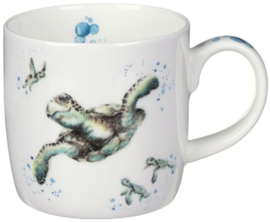 Wrendale Designs 'Swimming School' Mug