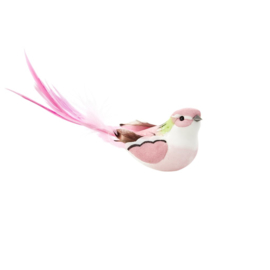 Rice Large Gift Wrapping Deco Bird with Clip
