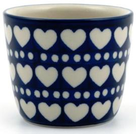 Bunzlau Mug Tumbler 190 ml Blue Valentine
