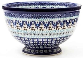 Bunzlau Bowl on Foot Large 25,5 cm Marrakesh